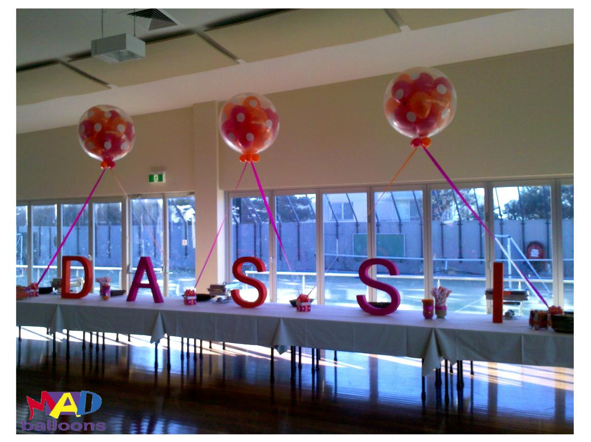 Mad blog for Anchor balloon decoration