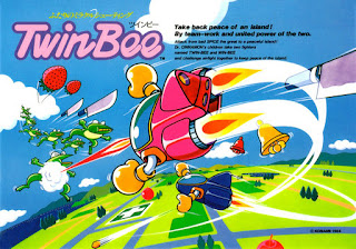 TwinBee on Piano en Mi lado Nintendo