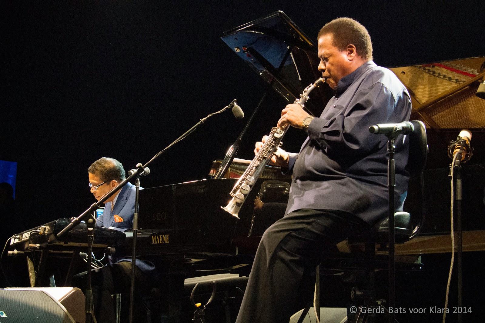 Herbie Hancock en Wayne Shorter live op Jazz Middelheim