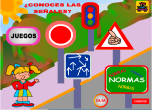 Actividades para educaci n infantil se ales de tr fico mec for Mural sobre o transito