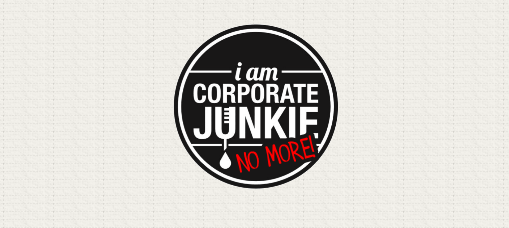 I am Corporate Junkie. No More. pinoy blog