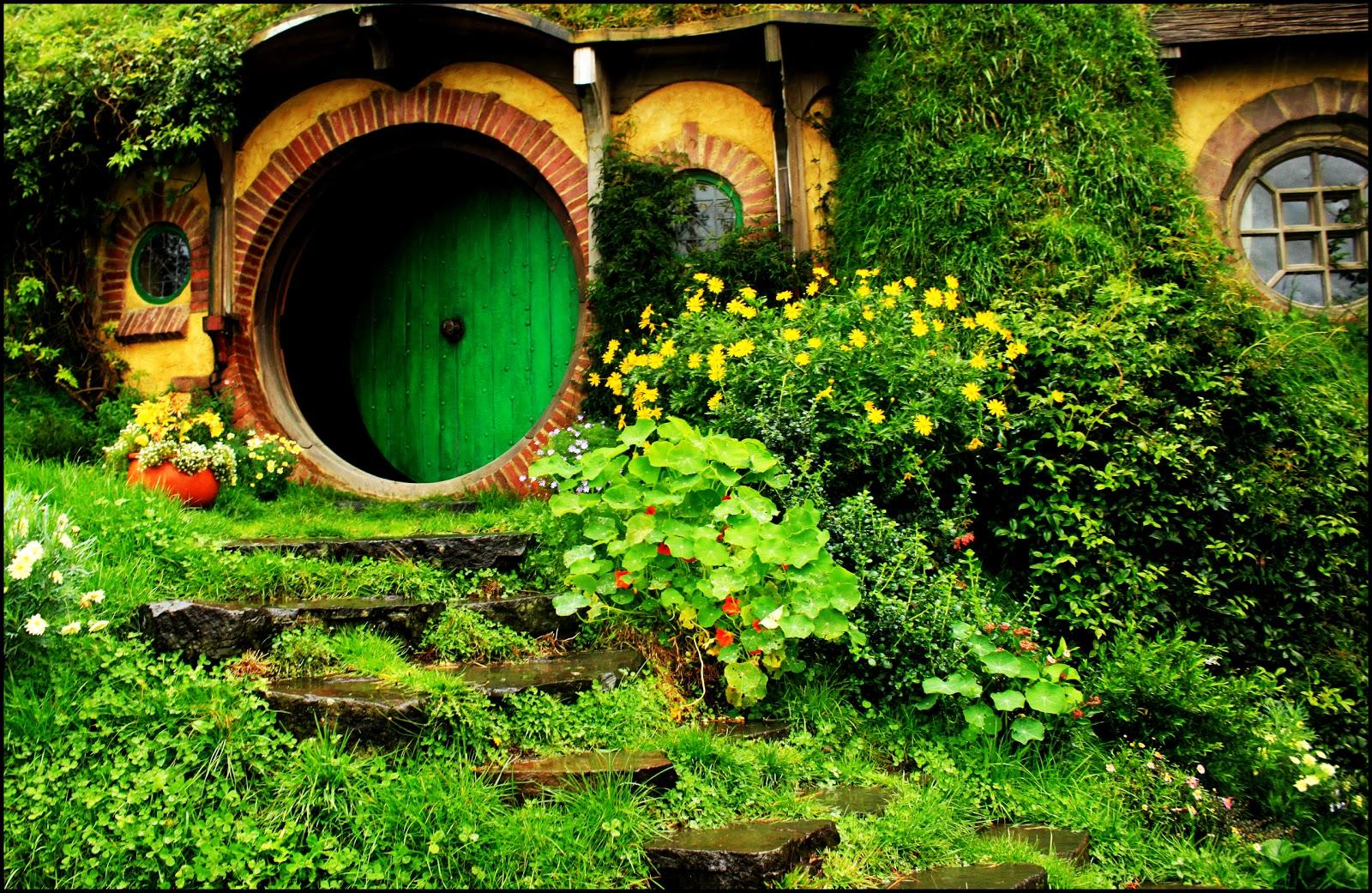 Hobbiton existe las casas de los hobbits en nueva zelanda - La casa de los hobbits ...
