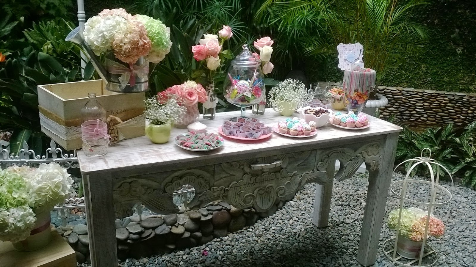Decoracion para primera comunion campestre - Decoracion fiesta vintage ...