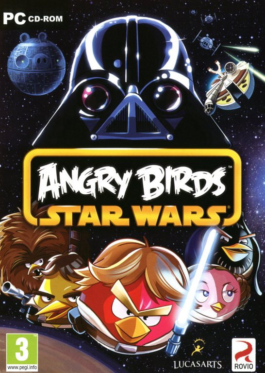 Angry Birds Star Wars Game Poster | Angry Birds Star Wars Game Cover