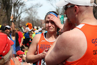 Marathon runner in shock after bombing of public international event shakes Boston