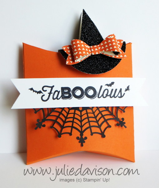 Julie's Stamping Spot -- Stampin' Up! Project Ideas by Julie Davison on halloween invitations, halloween candy box, halloween treat cups, halloween soap box, halloween cricut, halloween wreath,