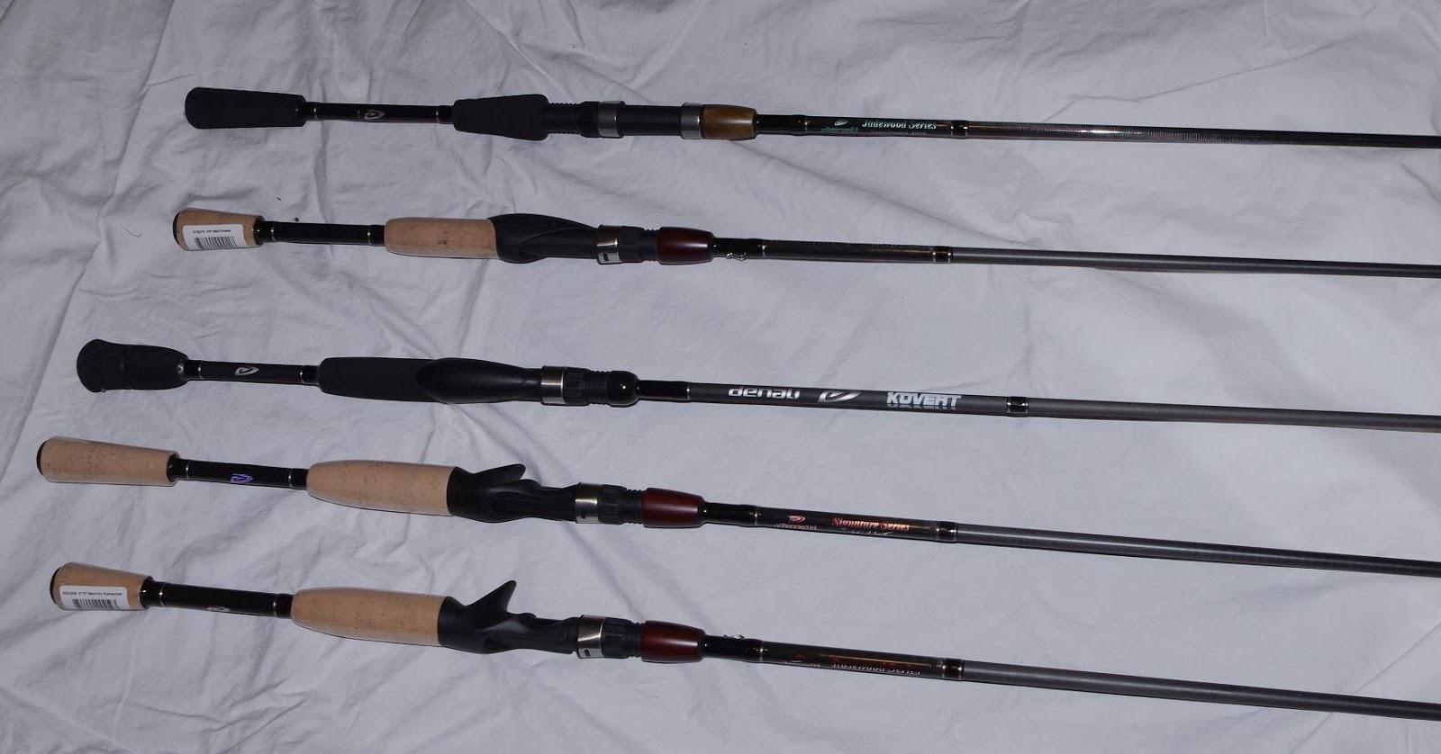 Denali rods for 2014 for Denali fishing rods