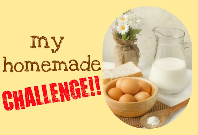 handmade, homemade, crafts, food, sewing, #homemadechallenge