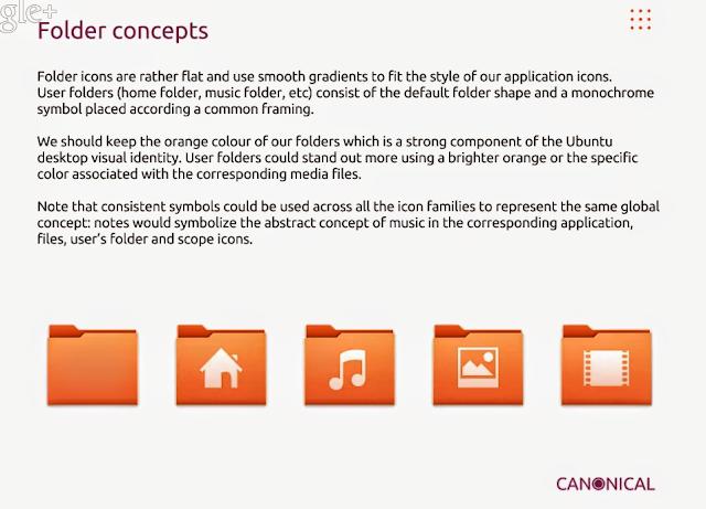 Novos ícones Ubuntu 14.04