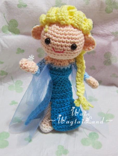 Amigurumi Elsa