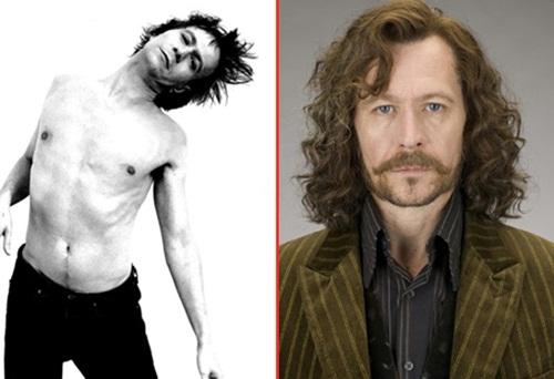 Gary+Oldman+ +Sirius+Black+Sai+Chul%C3%A9 Atores do Harry Potter quando eram mais jovens