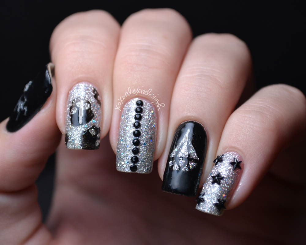 Nail Designs With Bows And Diamonds - intellego