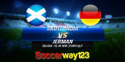 Prediksi Skotlandia vs Jerman
