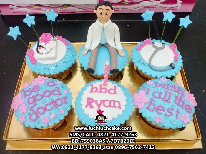 Cupcake Dokter Daerah Surabaya - Sidoarjo
