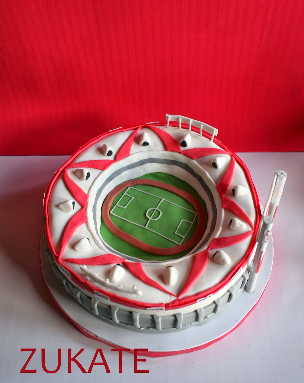 TORTA DEL ESTADIO DE RIVER PLATE