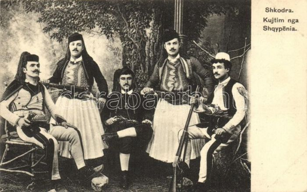 Γκεκαριά-Gegëria-Albanian warriors
