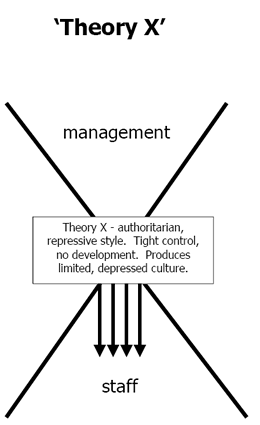 x and y theory in management