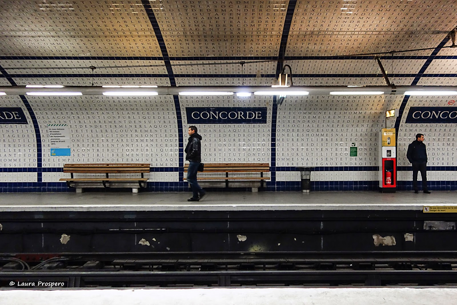 station concorde, paris 2015  © Laura Prospero