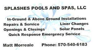 Splashes pools and spas, LLC