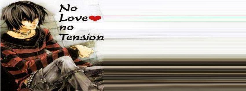 Couverture facebook no love no tension