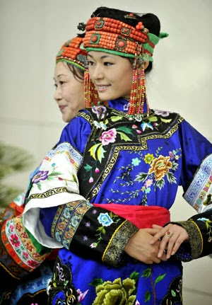 Beautiful Mongolian Women