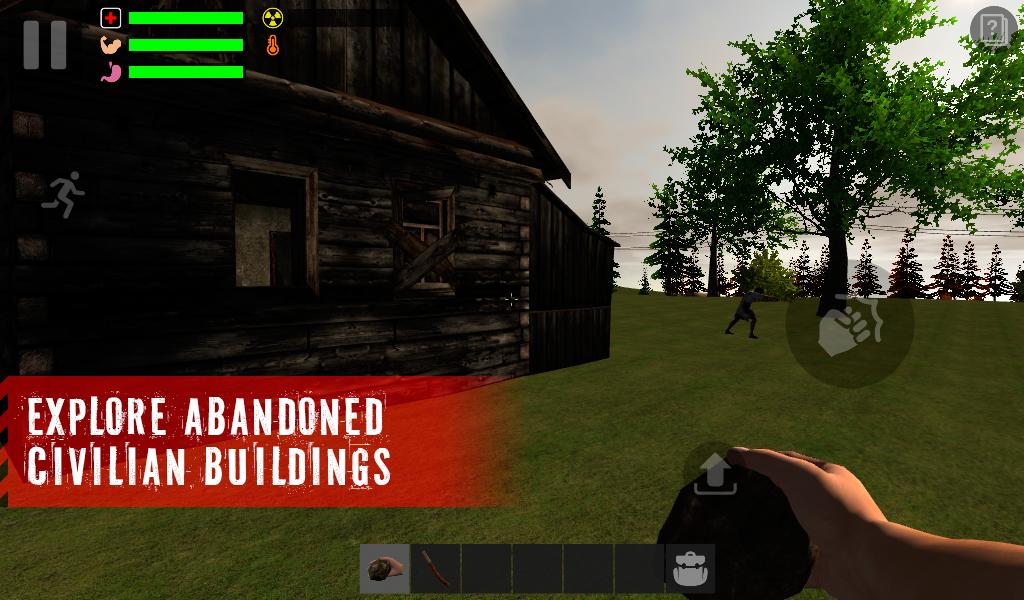 The Survivor: Rusty Forest скачать на андроид бесплатно. Легендарный симулятор выживальщика добрался до андроид!