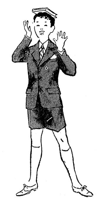 moda infantil anos 30