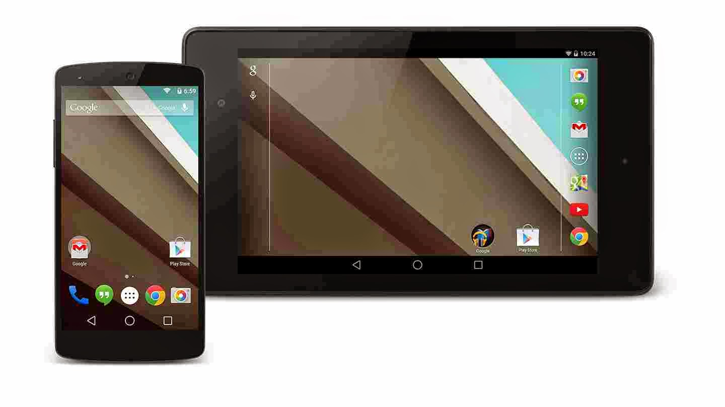 Google Nexus 5 and Nexus 7