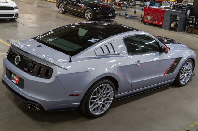 2013 Ford Mustang Tuned By Roush rear passanger