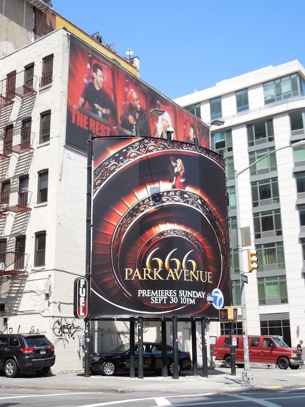 666 Park Avenue season 1 billboard NYC