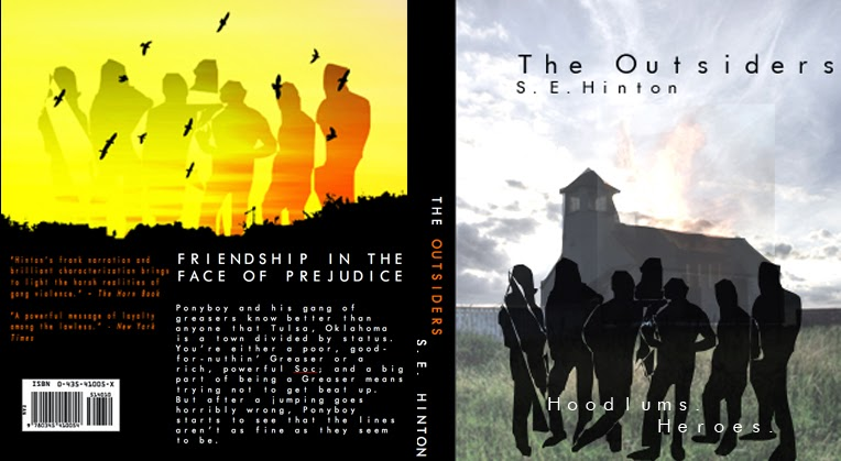 The Outsiders Book Cover Ideas : Fda digital media design existing book covers