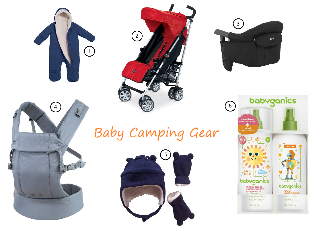 Camping gear for baby