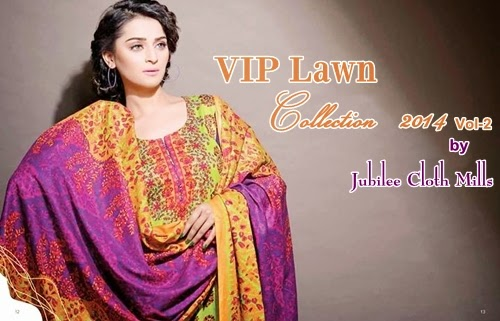 Vip Lawn 2014-Vol2 By Jubilee Textile