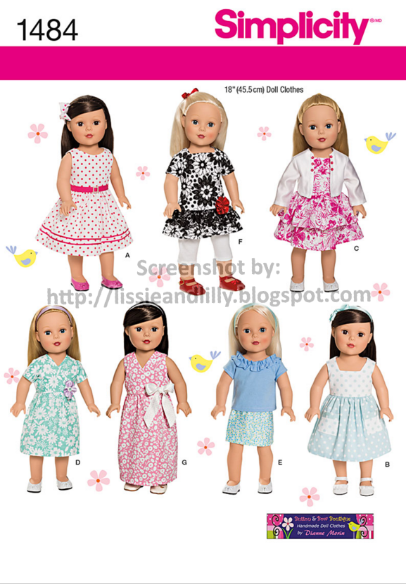 Lissie & Lilly: Simplicity Patterns on Sale at Jo-Ann for $1