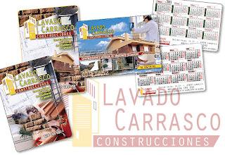 Construcciones Lavado Carrasco Cambrils folletos publicidad