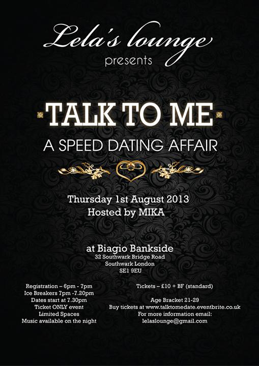 lelas lounge speed dating