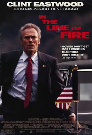 Poster Of In the Line of Fire 1993 In Hindi Bluray 720P Free Download