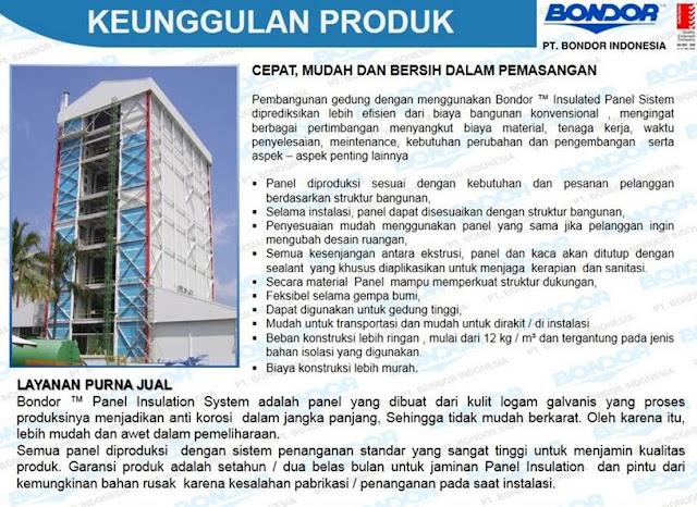 Bondor Panel Insulation System