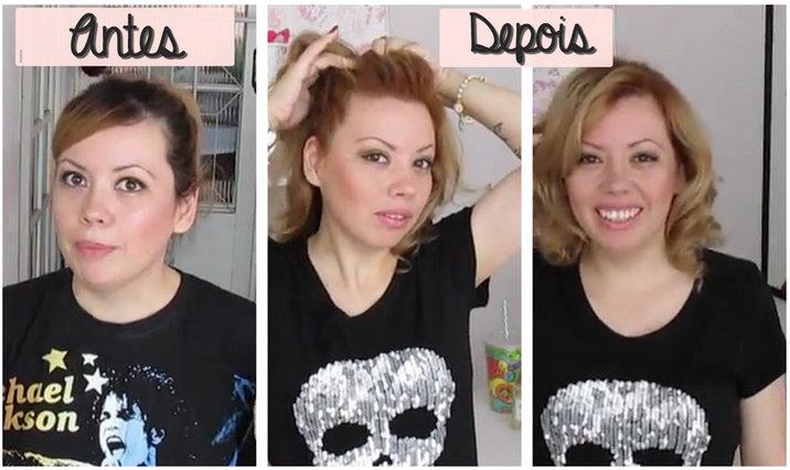 Tintura de cabelo, ficando loira, retoque de raíz, antes de depois, transformação, mudança de visual,