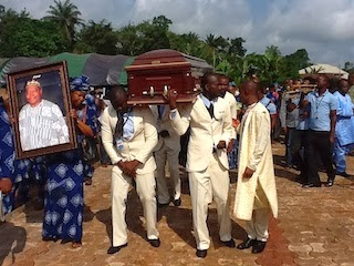 festus iyayi burial pictures