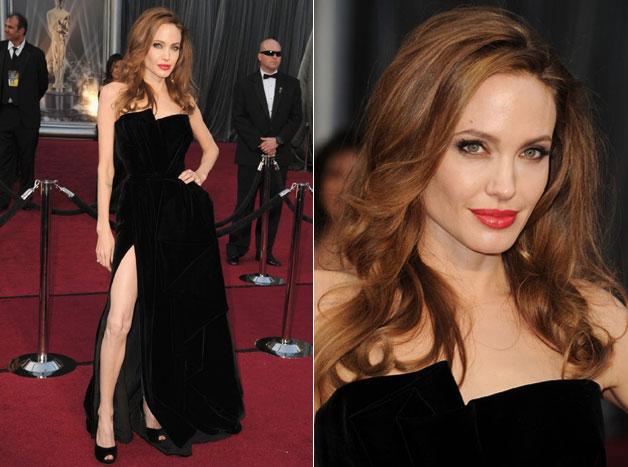 Look Angelina Jolie Oscar 2012