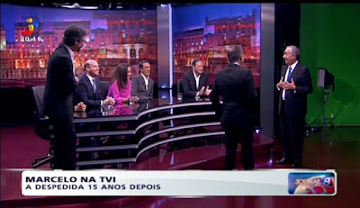 Marcelo na TVI - A despedida 15 anos depois
