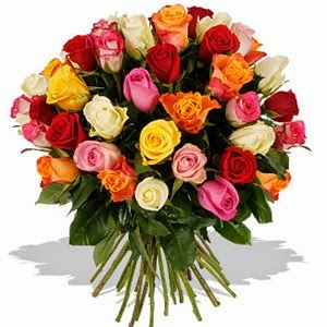 Mixed Rose Flower delivery in Brazil with price