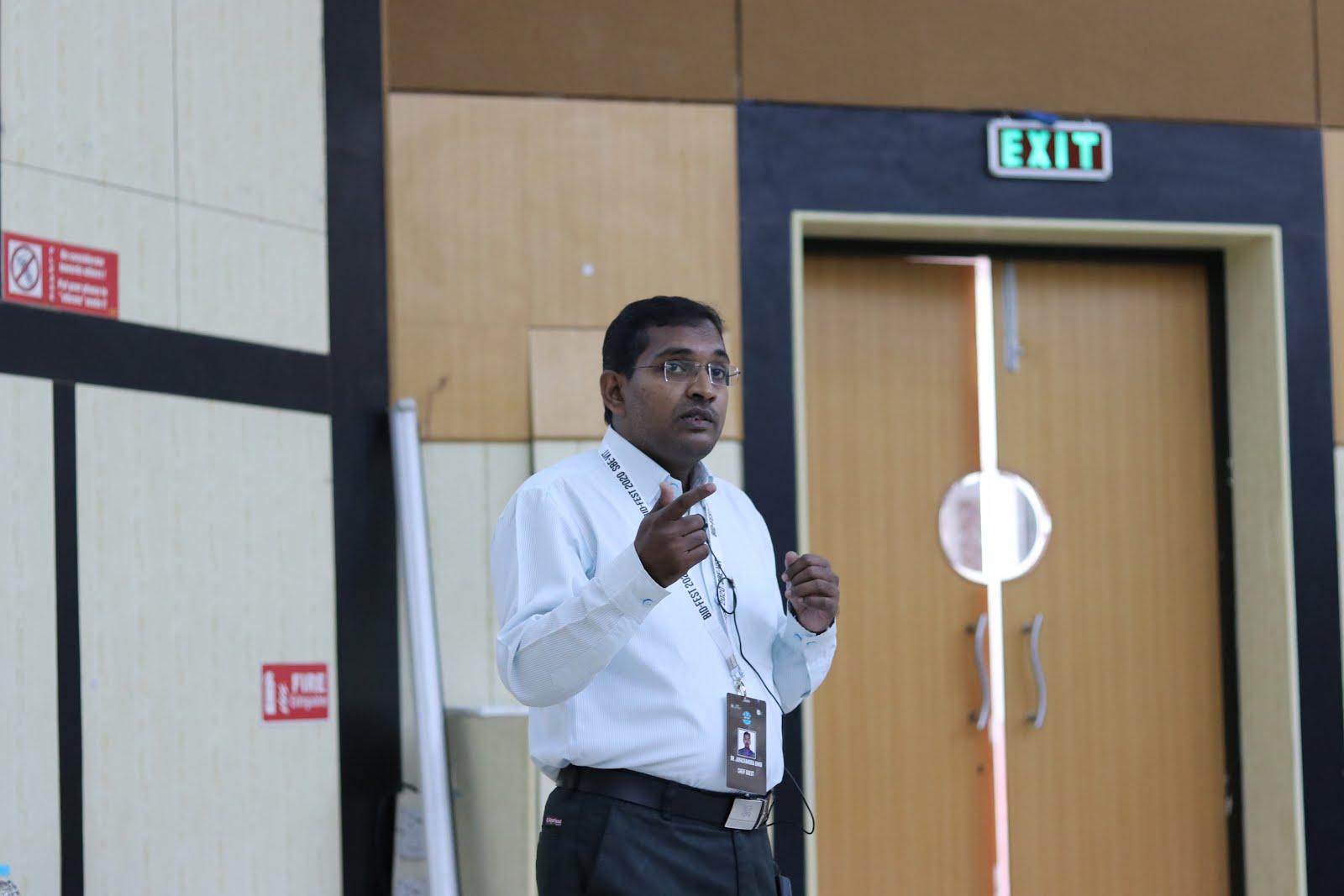 BID Fest 2020                                Chief Guest, Dr. Jayachandra Bingi, IIITDM Kanchipuram