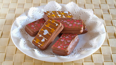 How To Make Printed Tim Tams Using Chocolate Transfer Sheets For
