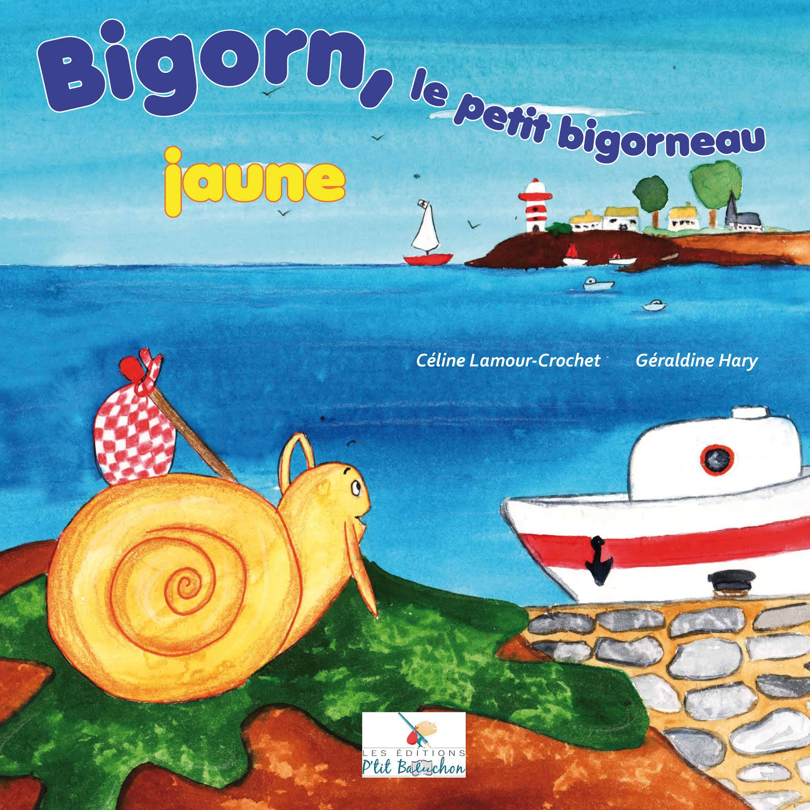 Bigorn, le petit bigorneau jaune