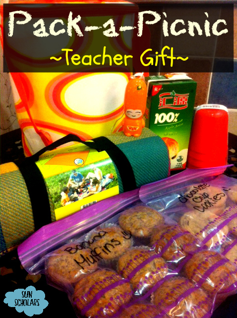 Picnic Gift for Teacher