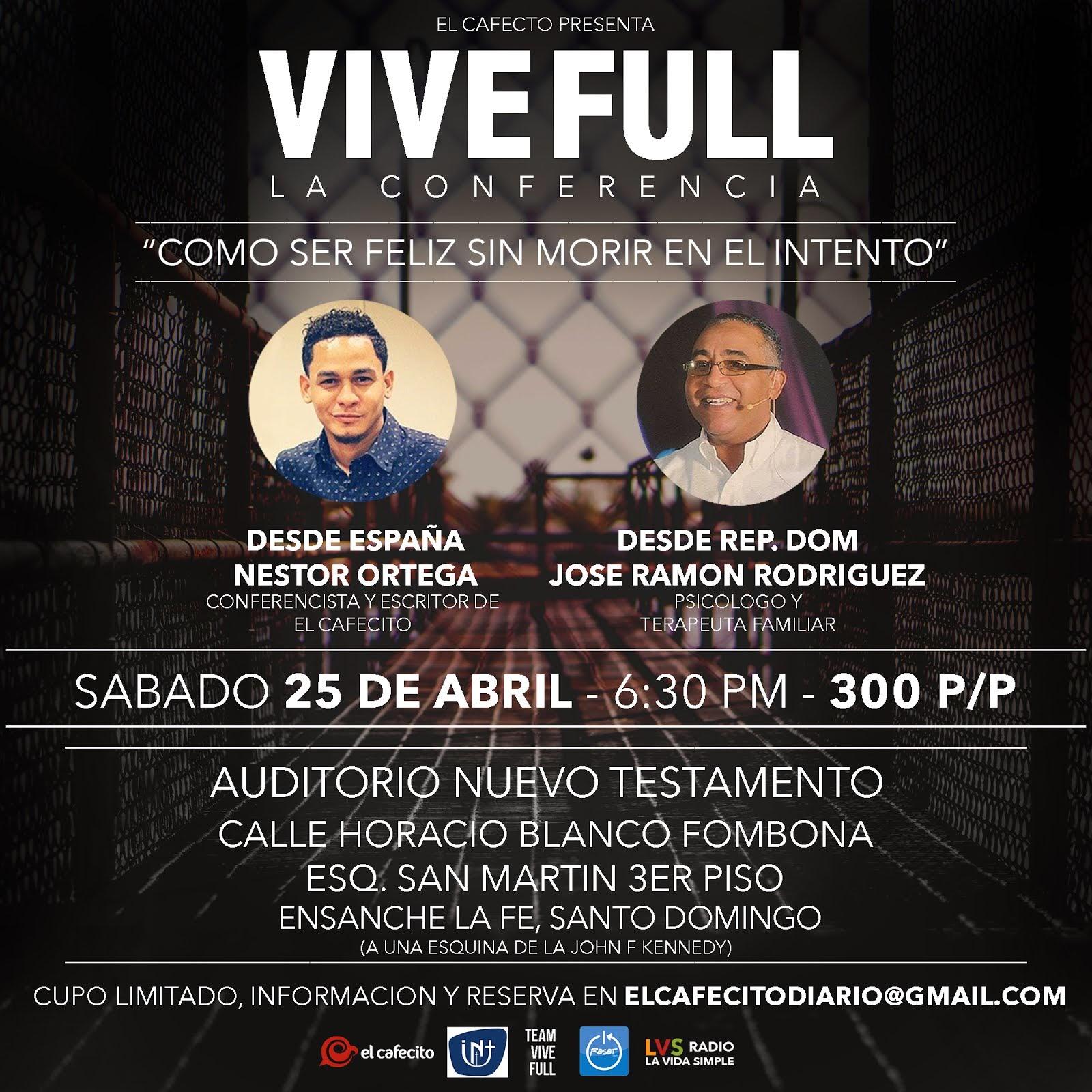Conferencia #ViveFull