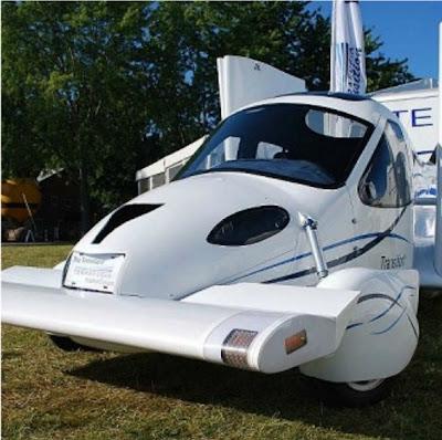Kereta terbang pertama di dunia - Terrafugia Transition