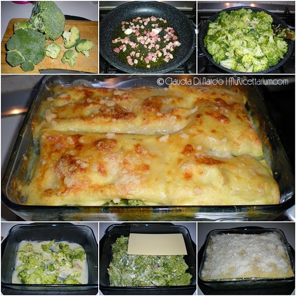 Lasagne con broccolo siciliano